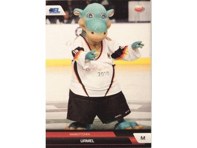 Kartička hokej maskot MS 2010 Germany