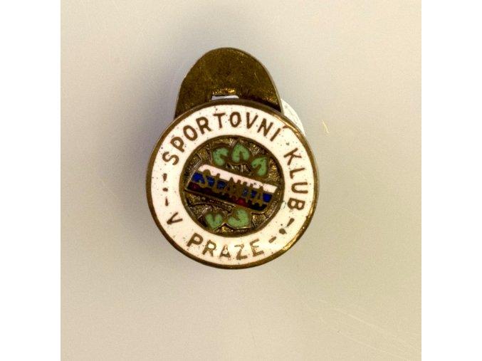 Odznak smalt Slavia Sportovní klub v Praze II