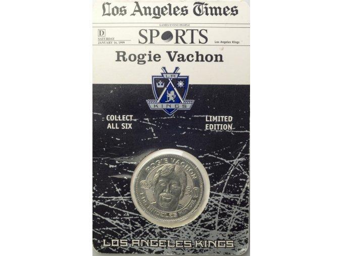 Pamětní mince LA Kings Rogie Vachon