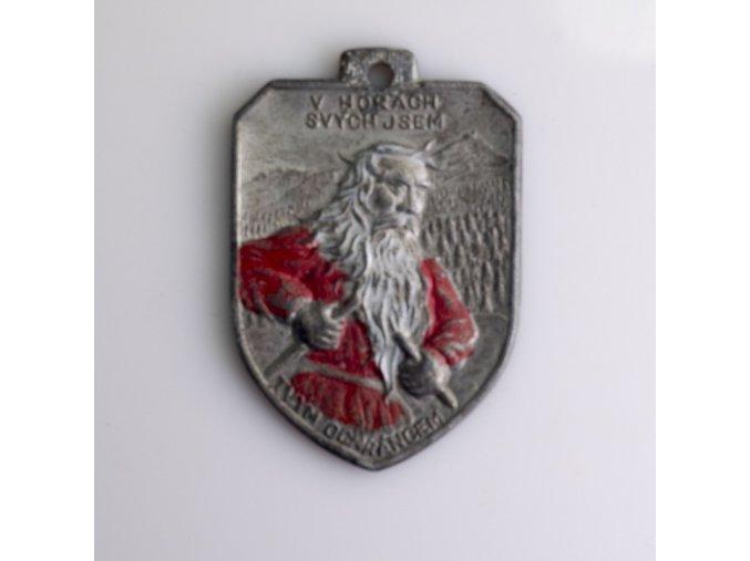 Medaile V horách jsem tvým ochráncem