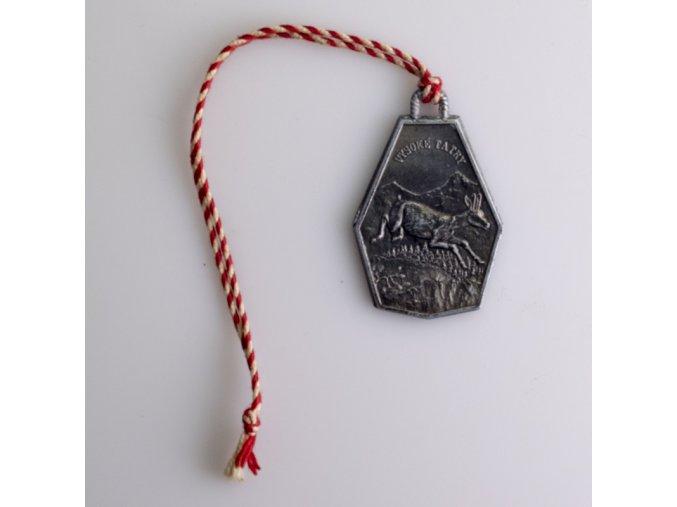 Medaile Vysoké Tatry Lanovka na Lomnický štít 2