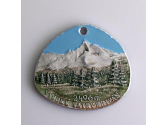 Medaile Vysoké Tatry Štrbské pleso Kriváň 2