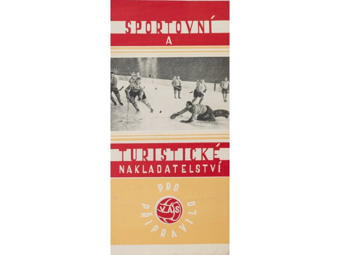 Reklamní leták, Lední hokej, STN připravilo...1959