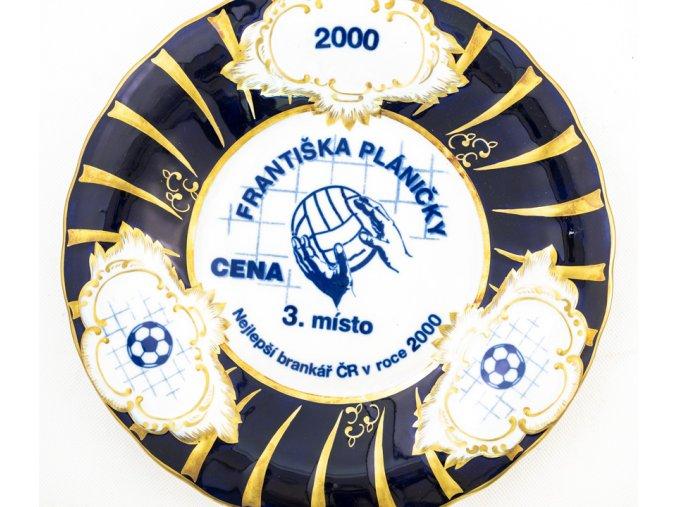 Trofej porcelánová mísa, Cena Františka Pláničky, 2000 (1)