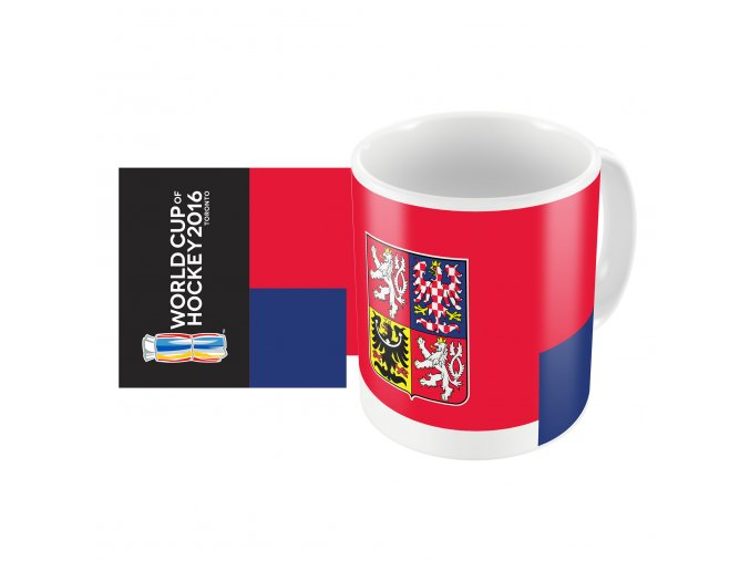 Team Czech Republic 2016 World Cup of Hockey Sublimated Mug