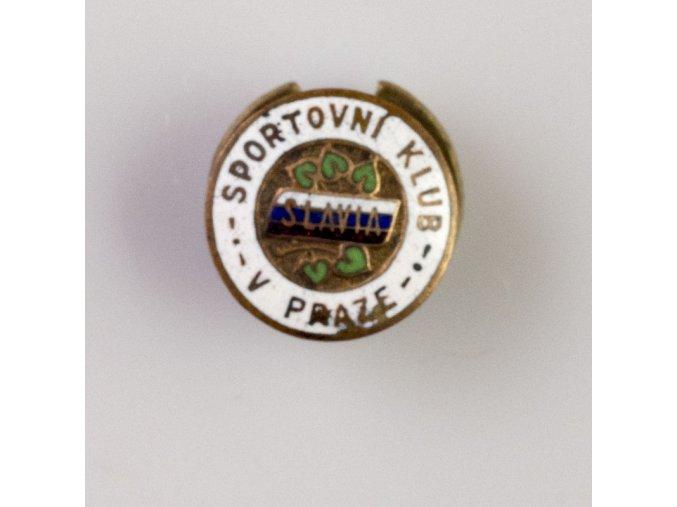 Odznak smalt Slavia Sportovní klub v Praze III