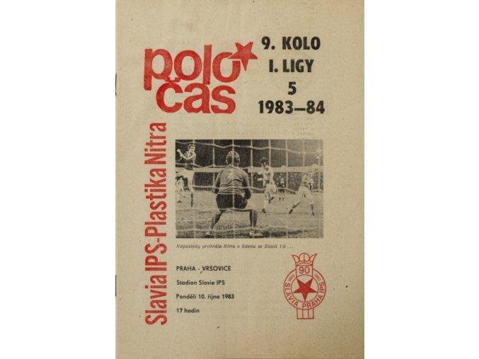 POLOČAS SLAVIA Praha vs. Plastika Nitra 1983 84 ( 5 )
