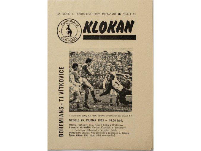 Program Klokan, Bohemians TJ Vítkovice, 19831984