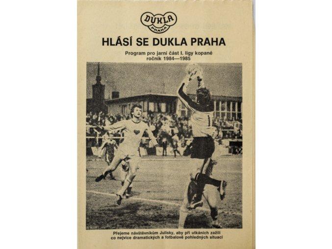 Program, Hlásí se Dukla, jarní část 198485
