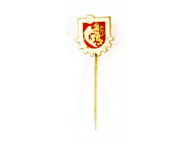 Odznak TJ Kovostroj Děčín 1