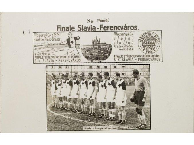 Dopisnice Finále Slavia Ferencváros