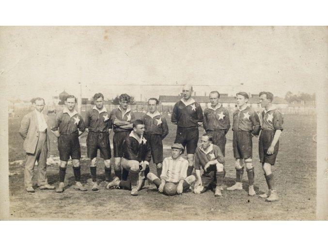 Fotografie fotbalisté, 30 léta