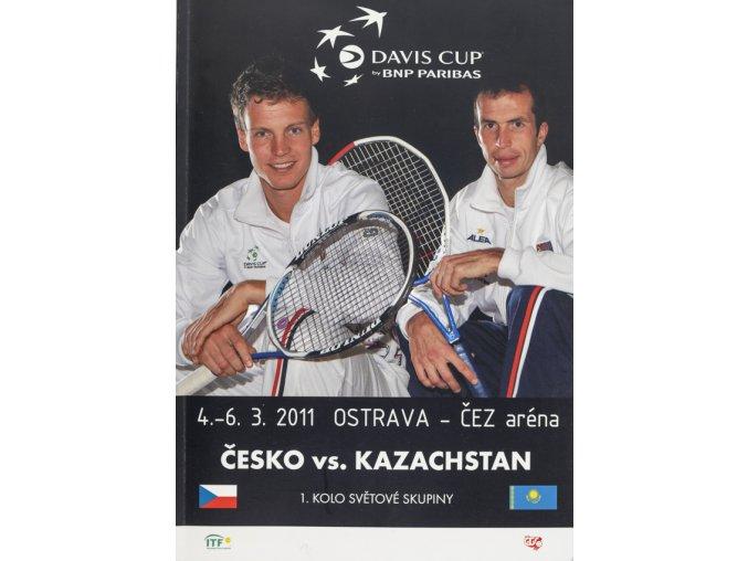 Official Program Davis Cup, CZ v. Kazachstán, 2011