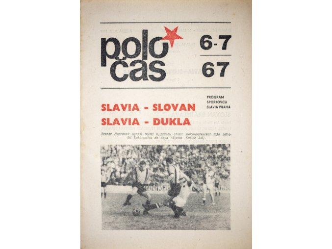 POLOČAS SLAVIA vs. SLOVAN, SLAVIA DUKLA, 1967 (1)
