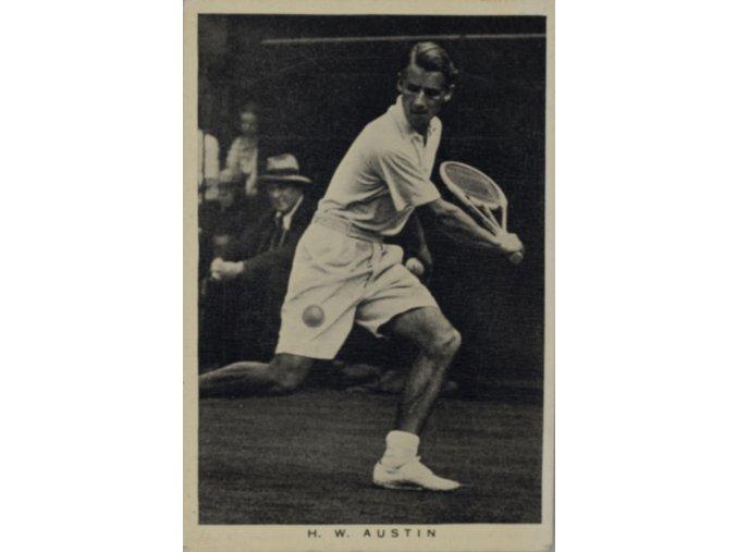 Kartička Tennis H.W. AUSTIN
