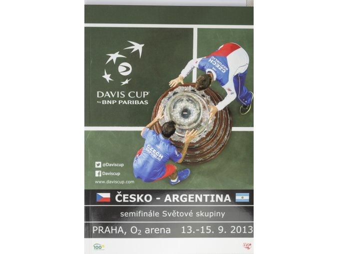 Program, ČR v. Argentina, Davis Cup, 2013