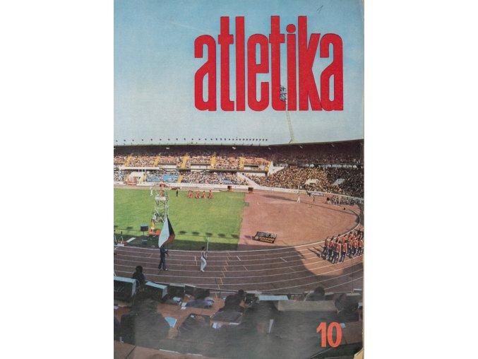 Časopis Atletika, 10, Praha, 1978 (1)