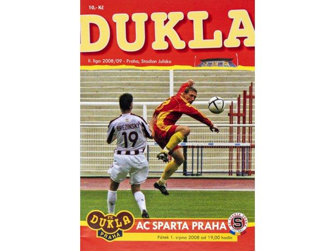 Program Dukla v. AC Sparta Praha, 2008