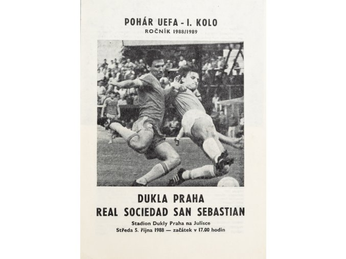 Program Dukla v. Real Sociedad San Sebastian, 1988