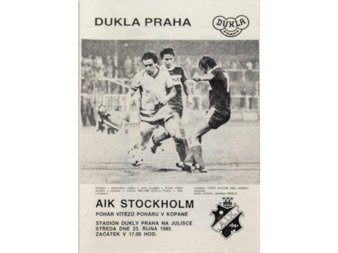 Program Dukla v. AIK Stockholm, PVP 1985