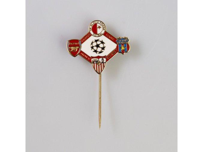 Odznak UEFA Champions league Group H 2007 2008
