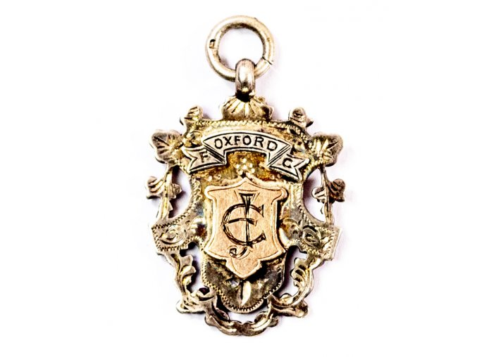 Medaile Oxford Football Club, 1901 (1)