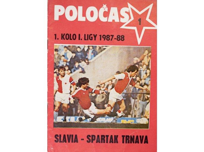 POLOČAS SLAVIA Praha vs. Spartak Trnava 1987 88