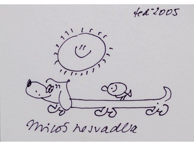 Kresba, Miloš Nesvadba, teď, 2005 (1)