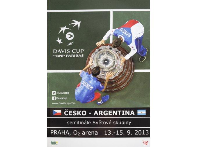 Program, Davis Cup, Czech Republic v Argentina, 2013
