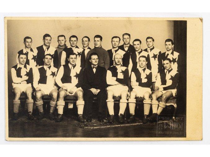 Dobová fotografie tým SK Slavia Praha, WILDT (1)
