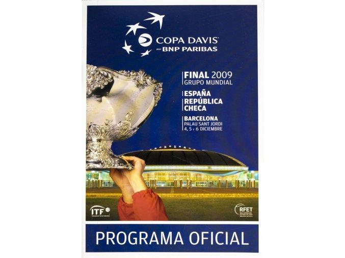 Oficialní program, Final Davis Cup, Espaňa v. República Checa, 2009