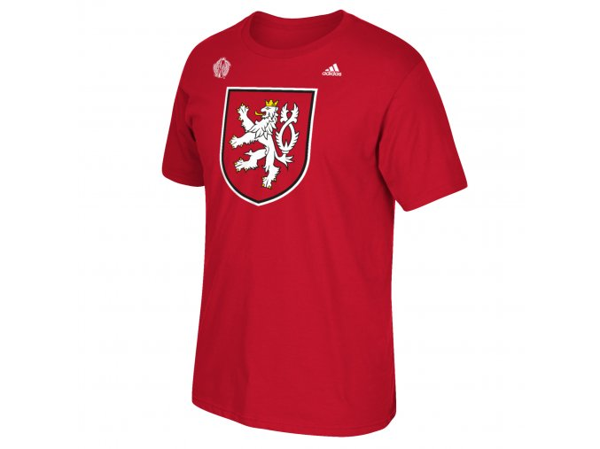 Team Czech Republic 2016 World Cup of Hockey Primary Logo T-Shirt - Youth