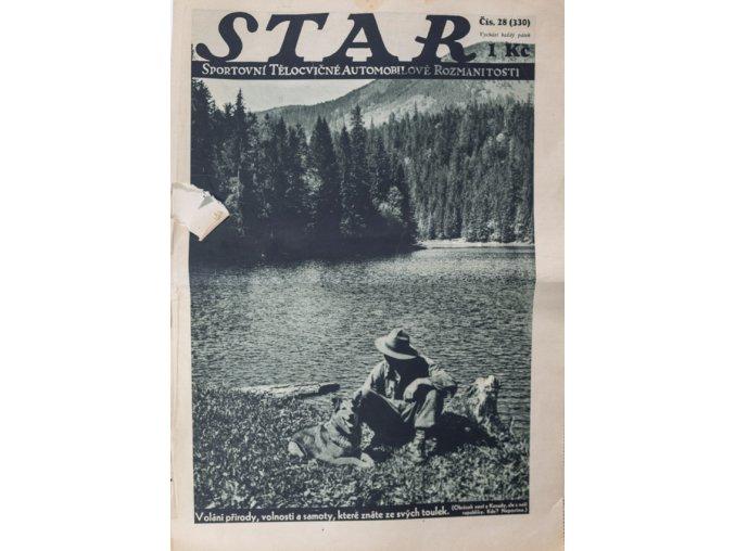 Časopis STAR, Burgr,Plánička, Čtyřoký Č. 28 (330), 1932