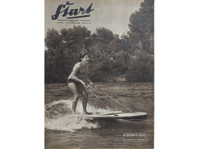 Časopis ŠTART, ročník I, 29. VI. 1956, číslo 26 (1)