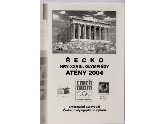 Program, Informační zpravodaj, ČOV, Athény 2004