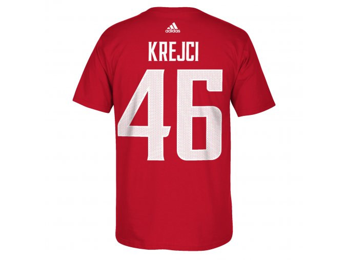Team Czech Republic 2016 World Cup of Hockey Name & Number T-Shirt - David Krejci - Mens