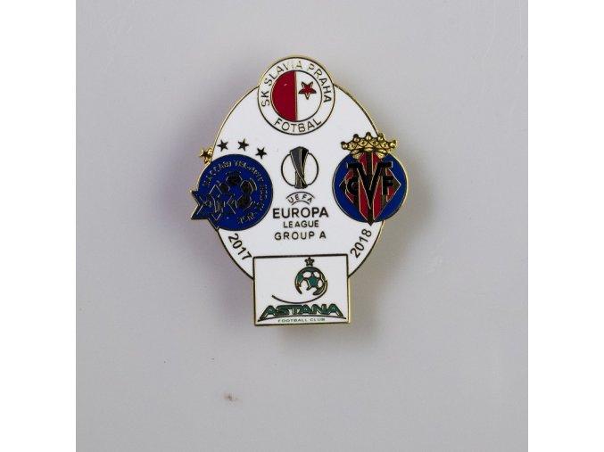 Odznak smalt Europa league 2017 2018 Group A