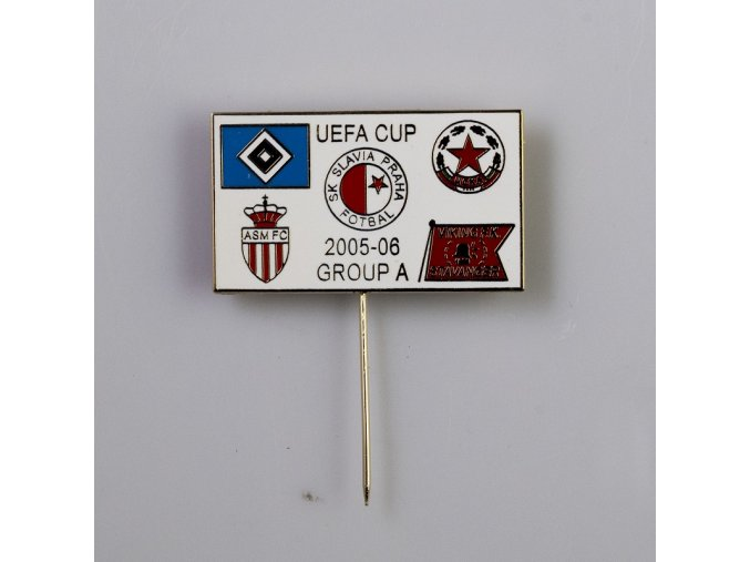 Odznak UEFA CUP 2005 2006 RED 2