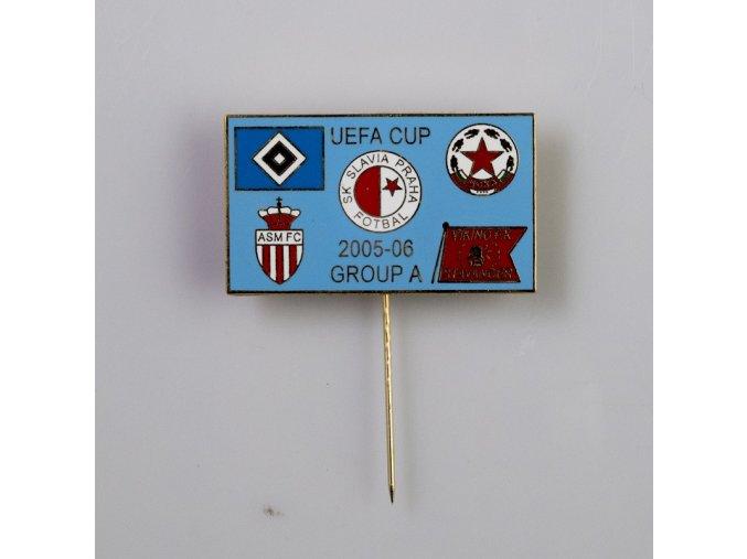Odznak UEFA CUP 2005 2006 RED 1