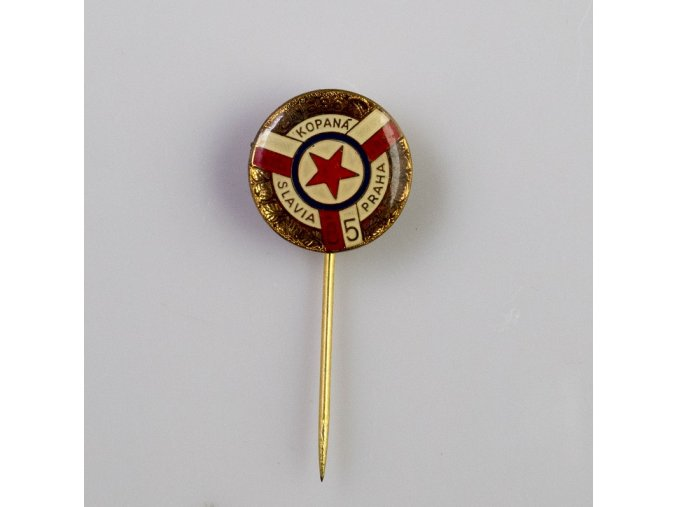 Odznak SLAVIA PRAHA Kopaná 85 let