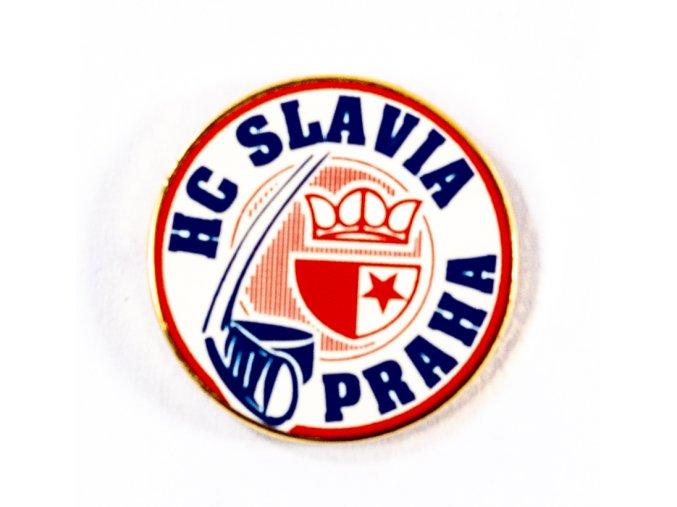 Odznak HC Slavia, původní logo extraliga