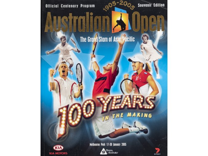 Program tennis Australiam OPEN, 2005