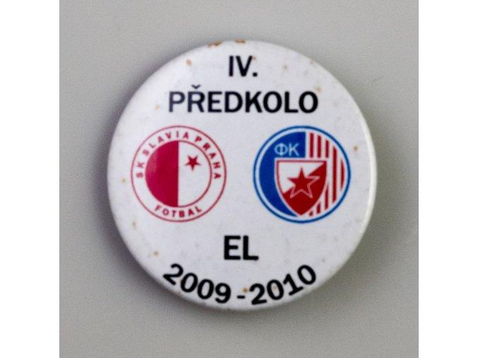 Placka IV. předkolo LM Slavia Praha vs. FK Crvena zvezda