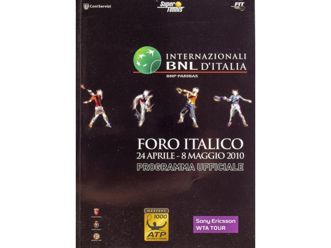 Program Masters 1000, Internazionali BNL, Italy, 2010