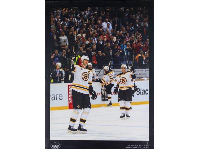 Velkoformátová fotografie, NHL Prague Premiere, 2010,Boston Bruins, Z. Chara