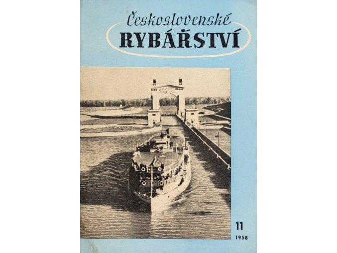 Časopis Československé Rybářství, 111958