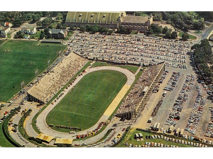 Pohlednice stadión Hershey Pennsylvania (1)