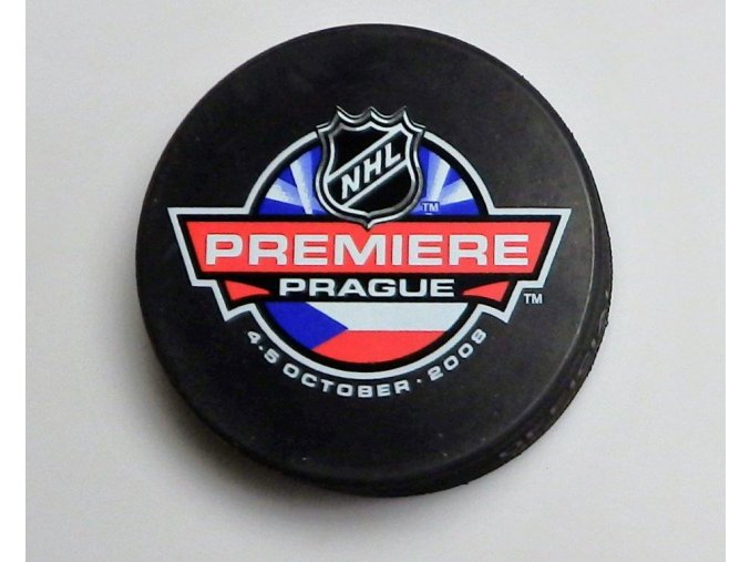 Puk NHL Premiere Prague 2008