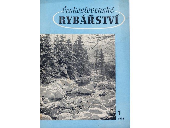 Časopis Československé Rybářství, 11958
