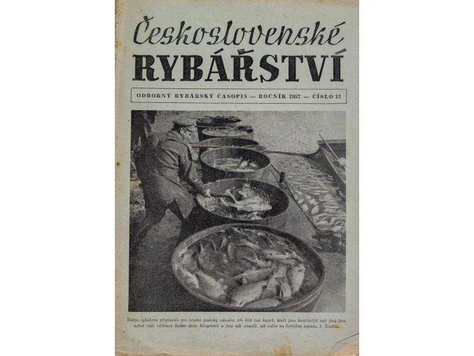 Časopis Československé Rybářství, 121957